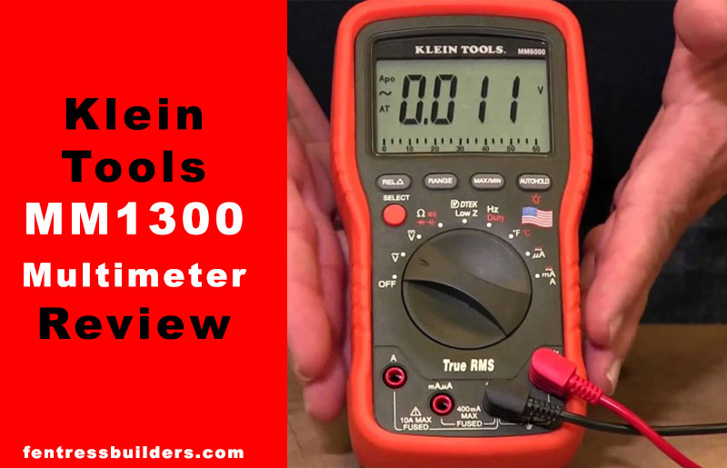 Klein-Tools-MM1300-Multimeter-Review