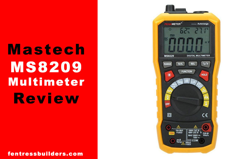 PEAKMETER-Mastech-MS8209-Multimeter-Review